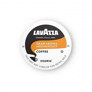 ihocon: Lavazza Gran Aroma Single-Serve Coffee K-Cups for Keurig Brewer, Medium Espresso Roast, 10-Count Boxes (Pack of 6) 咖啡膠囊