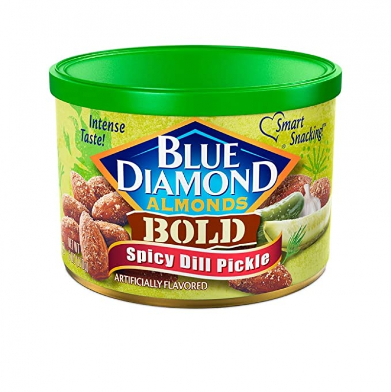 ihocon: Blue Diamond Almonds, Bold Spicy Dill Pickle, 6 Ounce杏仁