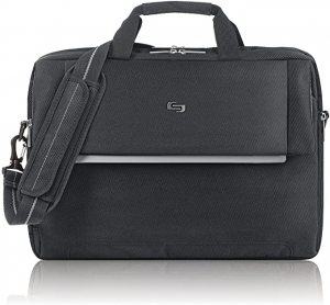 ihocon: Solo Chrysler 17.3 Inch Laptop Briefcase, Black   電腦公事包