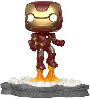 ihocon: Funko 45610 Pop! Deluxe, Marvel: Avengers Assemble Series - Iron Man, Amazon Exclusive, Figure 1 of 6 復仇者聯盟系列-鋼鐵俠