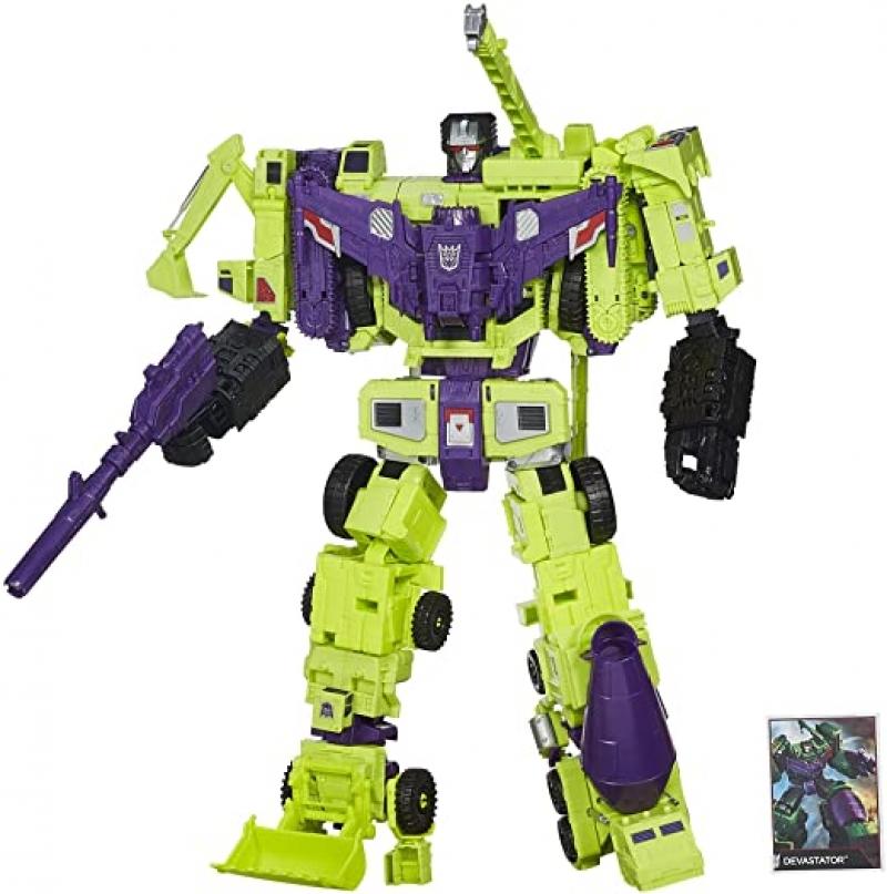 ihocon: Transformers 7-in-1 Generations Combiner Wars Devastator Figure Set 變形金剛