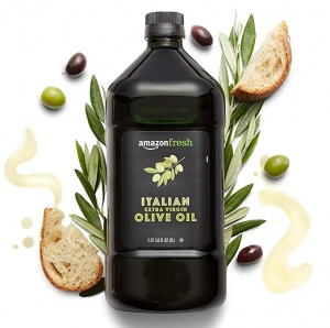 ihocon: AmazonFresh Italian Extra Virgin Olive Oil, 68 Fl Oz (2L)意大利特級初榨橄欖油
