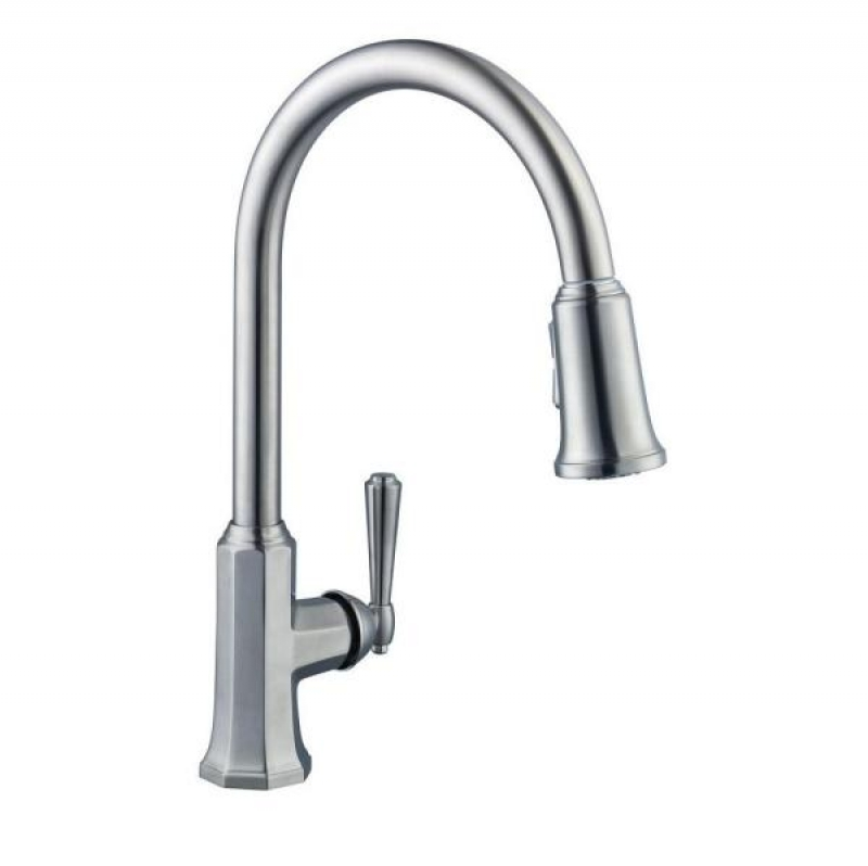 ihocon: Sentio Single-Handle Pull-Down Sprayer Kitchen Faucet 下拉式廚房水龍頭