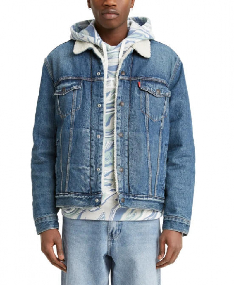 LEVI'S 男士牛仔夾克 $49.97(原價$128)