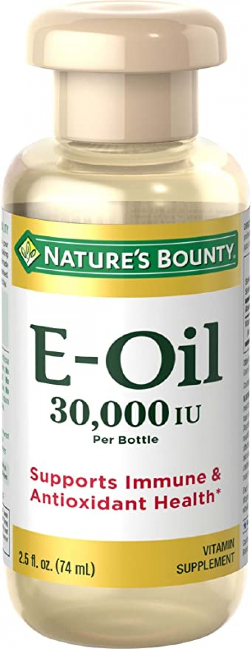 ihocon: Nature's Bounty Vitamin E Oil, 30,000IU Vitamin E, Topical or Oral oil, 2.5 Oz (外用或口服均可)