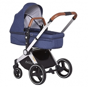 ihocon: Evolur Evolur Nova Reversible Seat Stroller (Navy) 雙向嬰兒推車