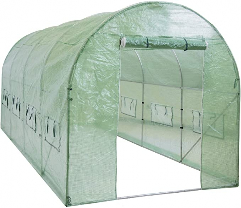 ihocon: Best Choice Products 15x7x7ft Walk-in Greenhouse 溫室