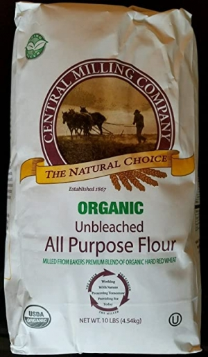 Central Milling有機未漂白麵粉 10磅 $27.99免運