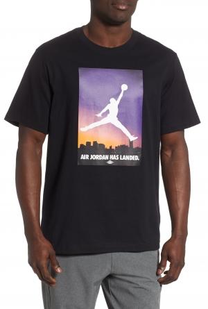 ihocon: JORDAN Landed Graphic男士 T-Shirt