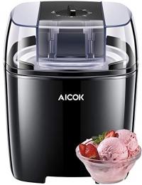 ihocon: Aicok Ice Cream/Frozen Yogurt/Sorbet Maker, 1.6 Quart 冰淇淋機