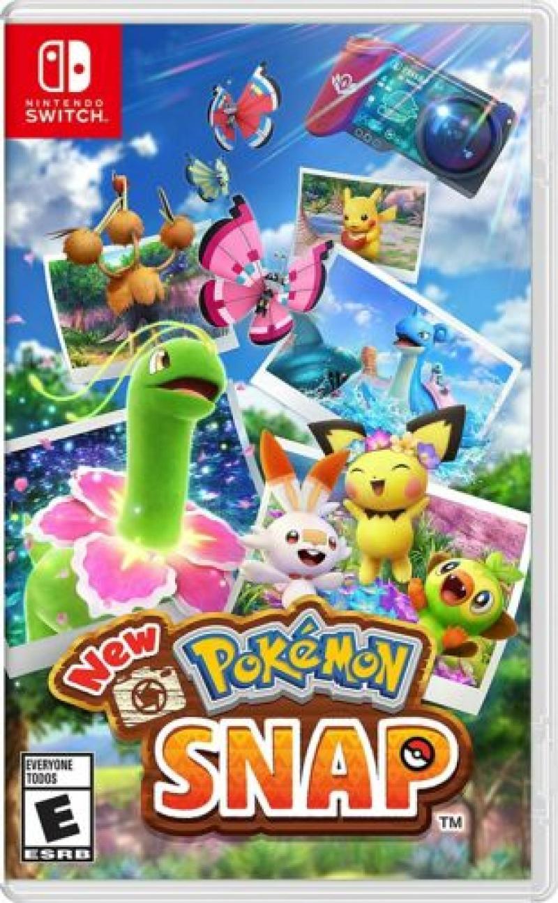 ihocon: Nintendo Switch遊戲 - New Pokemon Snap