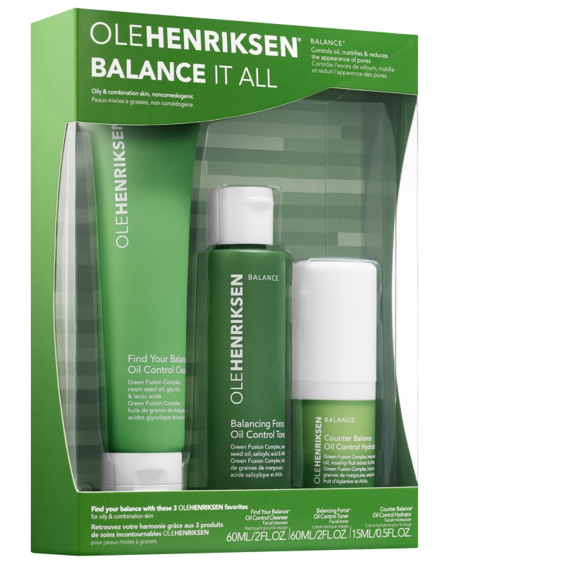 ihocon: OLEHENRIKSEN Balance It All Essentials Set 皮膚保養旅行套裝
