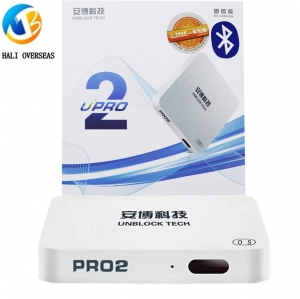 ihocon: HALI Overseas Latests 2019 UBOX6 Model UPRO2 Unblock Tech TV Box I950 PRO2 UBox6 Gen6 Bluetooth Chinese HK Korea Taiwan Japanese Asian TV 安博電視盒
