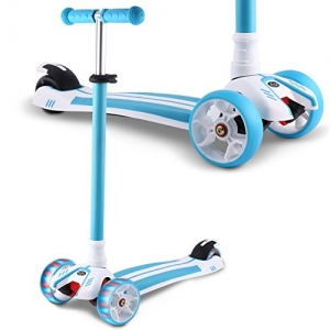 ihocon: Hikole 3 Wheel Mini Adjustable Kick Scooter三輪兒童滑板車