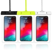 ihocon: Veckle 3 Pack Waterproof Phone Pouch手機防水袋