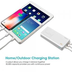 ihocon: ROMOSS 30000mAh Type-C PD Portable Charger行動電源/充電寶