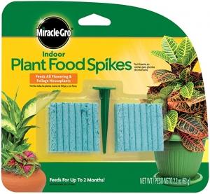 ihocon: Miracle-Gro Indoor Plant Food Spikes, 48 Spikes 室內植物肥料釘