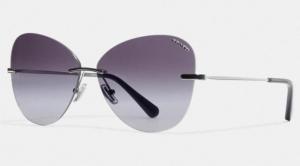 Coach 女士無框太陽眼鏡 $72.50(原價$145)