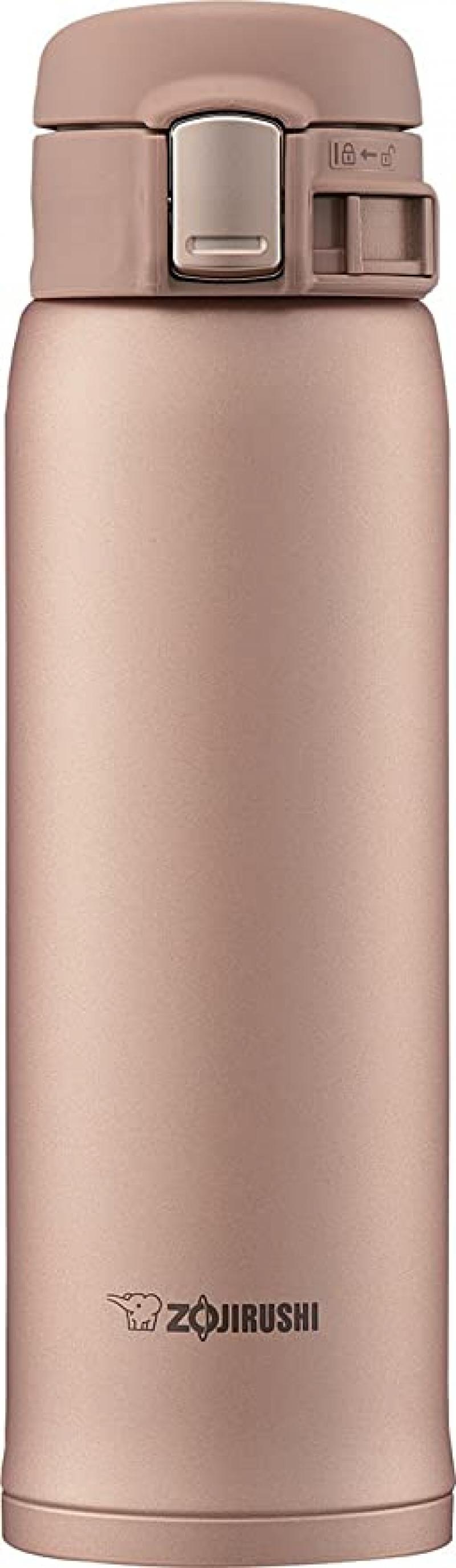 ihocon: Zojirushi SM-SD48NM Stainless Steel Vacuum Insulated Mug, 16-Ounce, Matte Gold  象印不銹鋼保溫杯