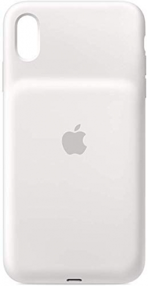 ihocon: Apple iPhone Xs Max Smart Battery Case - White 智能電池手機套
