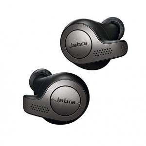 ihocon: Jabra Elite 65t Alexa Enabled True Wireless Earbuds with Charging Case (Black)真無線耳機