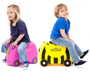 ihocon: Trunki Original Kids Ride-On Suitcase and Carry-On Luggage  兒童行李箱- 多色可選