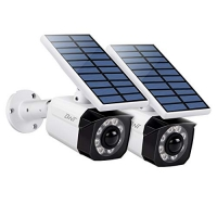 ihocon: BNT Solar 800Lumens Motion Sensor Light, Waterproof (White, 2 Pack) 太陽能動作感應室外燈