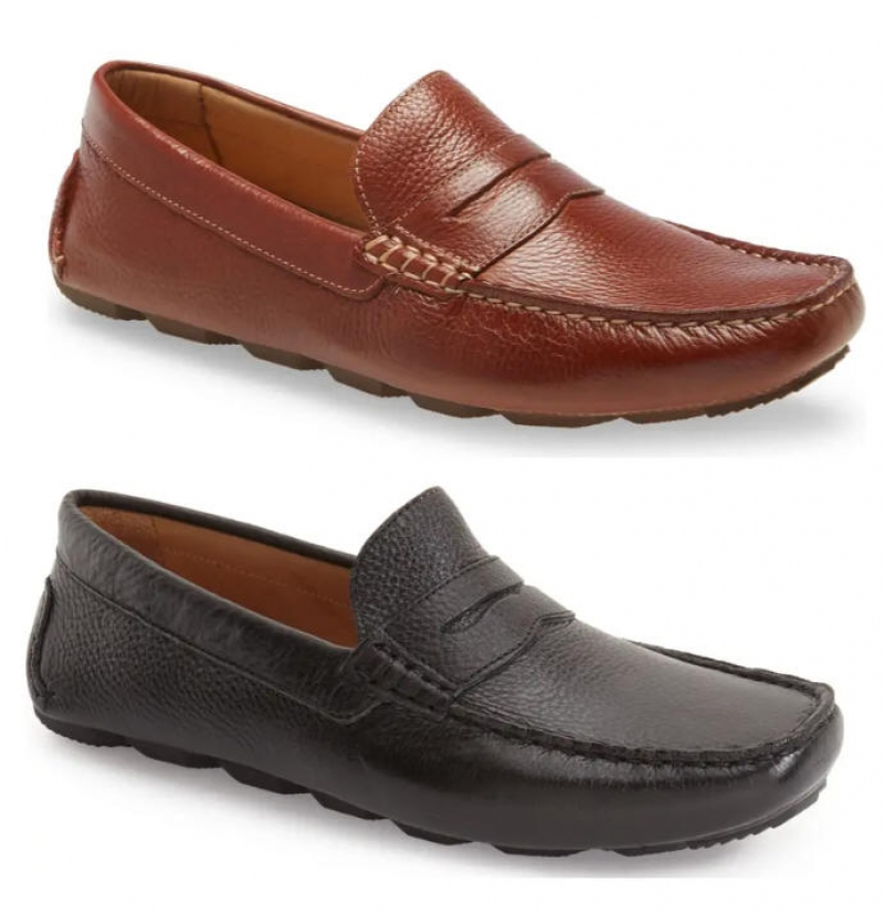 ihocon: NORDSTROM Bermuda Driving Loafer 真皮男鞋-2色可選