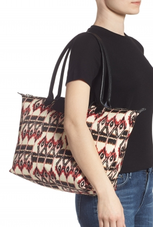 ihocon: LONGCHAMP Le Pliage Ikat Large Shoulder Tote