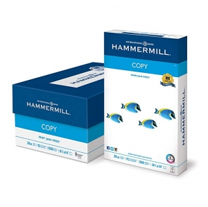 ihocon: Hammermill 8 1/2 x 14 Legal 20lb Copy Paper Poly Wrap, 92 Bright, 3-Ream (1500 Sheets) 白紙