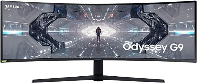 ihocon: SAMSUNG 49-inch Odyssey G9 - QHD, 240hz, 1000R Curved Gaming Monitor, 1ms, NVIDIA G-SYNC & FreeSync, QLED 曲型遊戲螢幕
