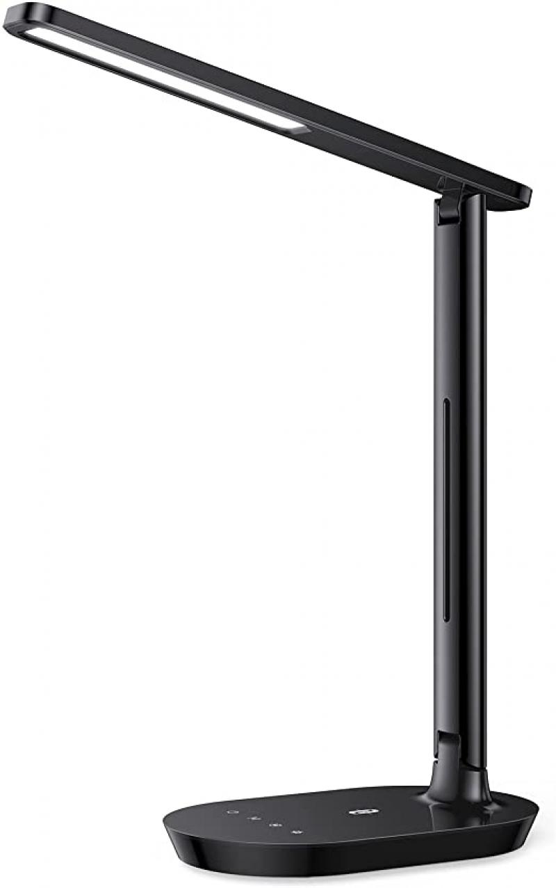 ihocon: TaoTronics LED Desk Lamp, Dimmable Desk Lamp with 5 Lighting Levels 3 Color Modes 光線微調護眼桌燈