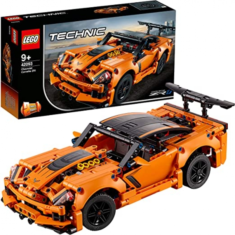 ihocon: LEGO Technic Chevrolet Corvette ZR1 42093 Building Kit (579 Pieces)