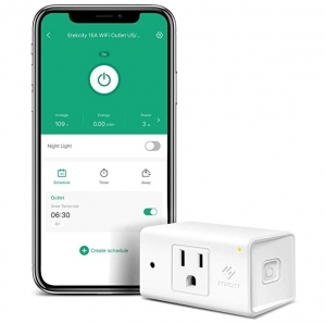 ihocon: Etekcity Smart Plug, Works with Alexa and Google Home智能插座-不在家也能遙控電器