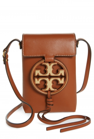ihocon: TORY BURCH Miller Leather Phone Crossbody Bag 包包