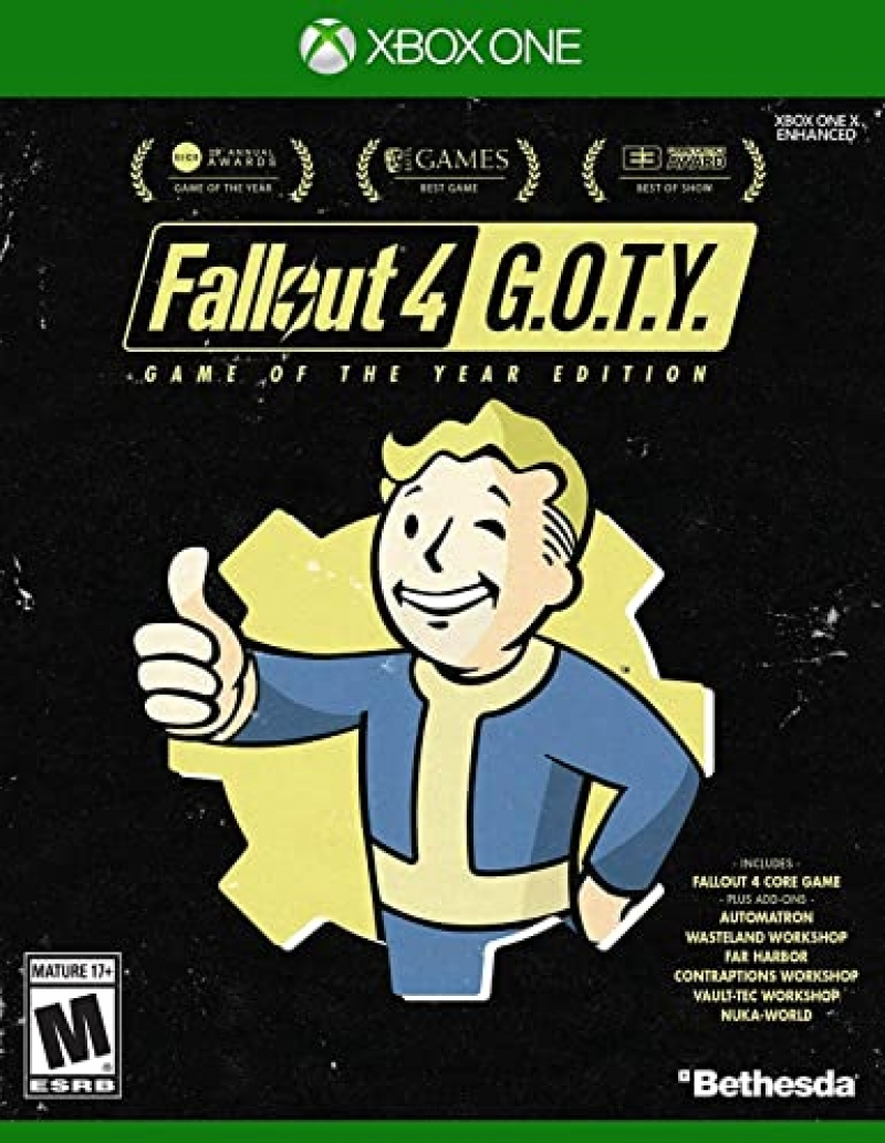 ihocon: Xbox One遊戲 - Fallout 4 Game of The Year Edition