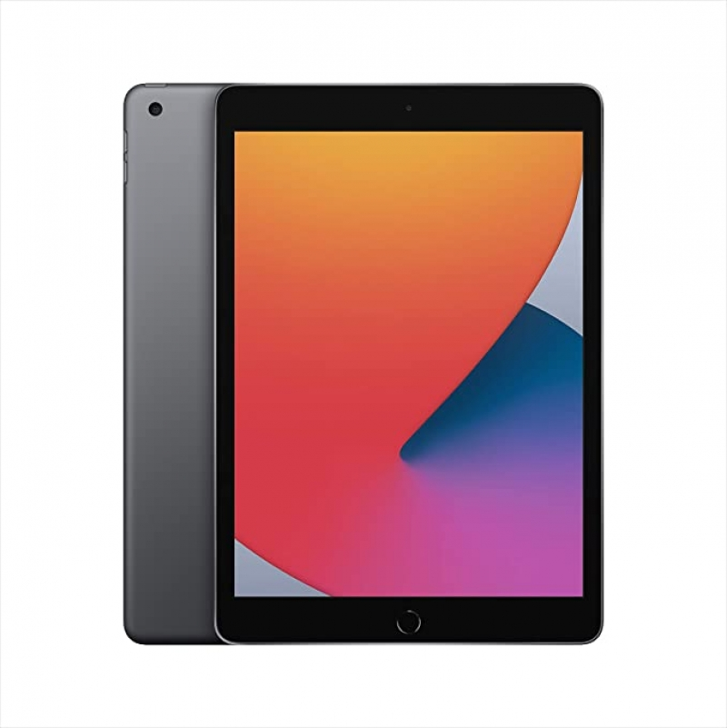 ihocon: [最新款] Apple iPad (10.2-inch, Wi-Fi, 128GB) - Space Gray (Latest Model, 8th Generation)