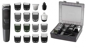 ihocon: Philips Norelco Multigroom 5000, with Storage Case MG5760/40 飛利浦無線理髮/修容器