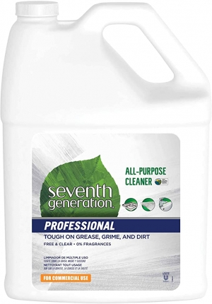 ihocon: Seventh Generation Professional All-Purpose Cleaner Refill Free & Clear Unscented 128 fl oz Pack of 2 萬用清潔劑
