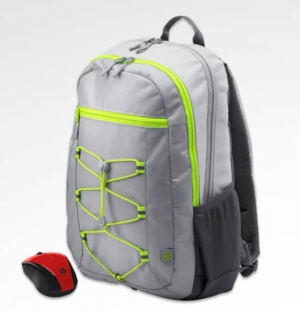 ihocon: HP Active Backpack + Wireless Mouse Bundle  電腦背包+無線滑鼠