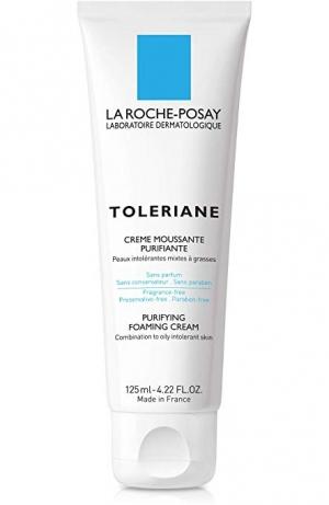 ihocon: La Roche-Posay Toleriane Purifying Foaming Cream Cleanser, 4.22 Fl. Oz 理膚寶水泡沫潔面乳