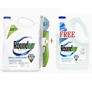 ihocon: Roundup Ready-to-Use 1.33-Gallon Weed & Grass Killer w/ Sure Shot Wand + Free Bonus 1.25-Gallon Refill 除草劑