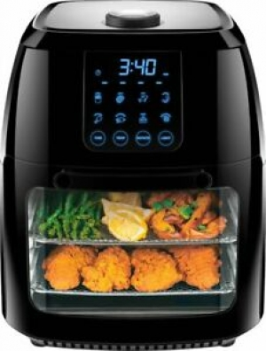 ihocon: CHEFMAN 6L Digital Multi-Function Air Fryer - Black氣炸鍋, 6.3Qt