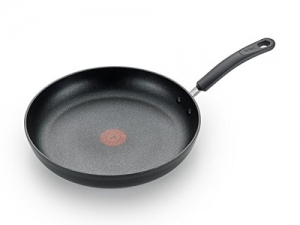 ihocon: T-fal C5610564 Titanium Advanced Nonstick Thermo-Spot Heat Indicator Dishwasher Safe Cookware Fry Pan, 10.5-Inch, Black 熱點熱顯示器不粘鍋