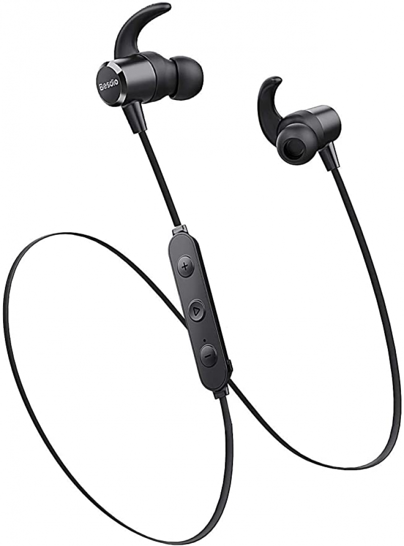 ihocon: besdio Wireless Bluetooth 5.0 Earphones 藍牙無線耳機