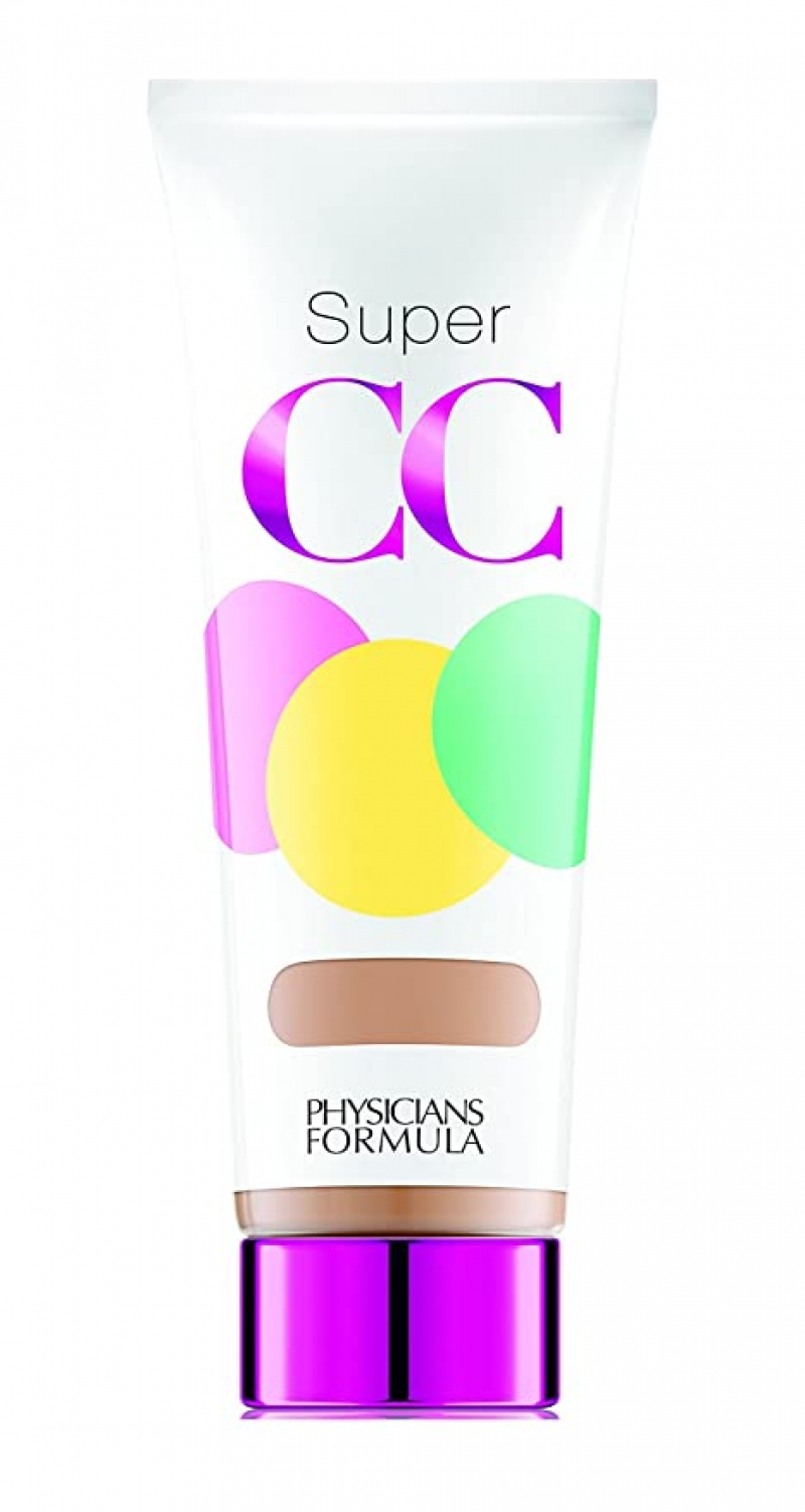 ihocon: Physicians Formula Super CC Color-Correction + Care CC Cream, Light/Medium 1.2 Ounces, SPF 30 膚色矯正及修護CC霜
