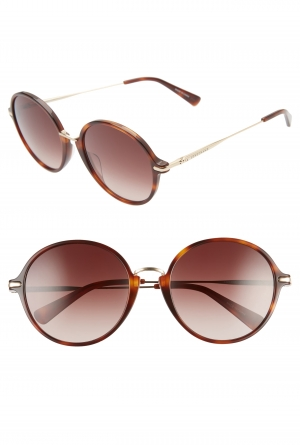 ihocon: LONGCHAMP Roseau 56mm Round Sunglasses太陽眼鏡