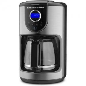 ihocon: KitchenAid 12 Cup Glass Carafe Onyx Black Coffee Maker 咖啡機