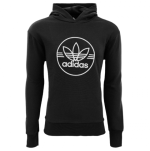 ihocon: adidas Men's Trefoil Circle Performance Pullover Hoodie 男士連帽衫 - 2色可選