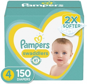 Pampers Swaddlers幫寶適尿片 size4 150片 $41.24免運(原價$49.99)